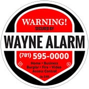 Request Yard Sign Amp Stickers Form Boston Ma Wayne Alarm