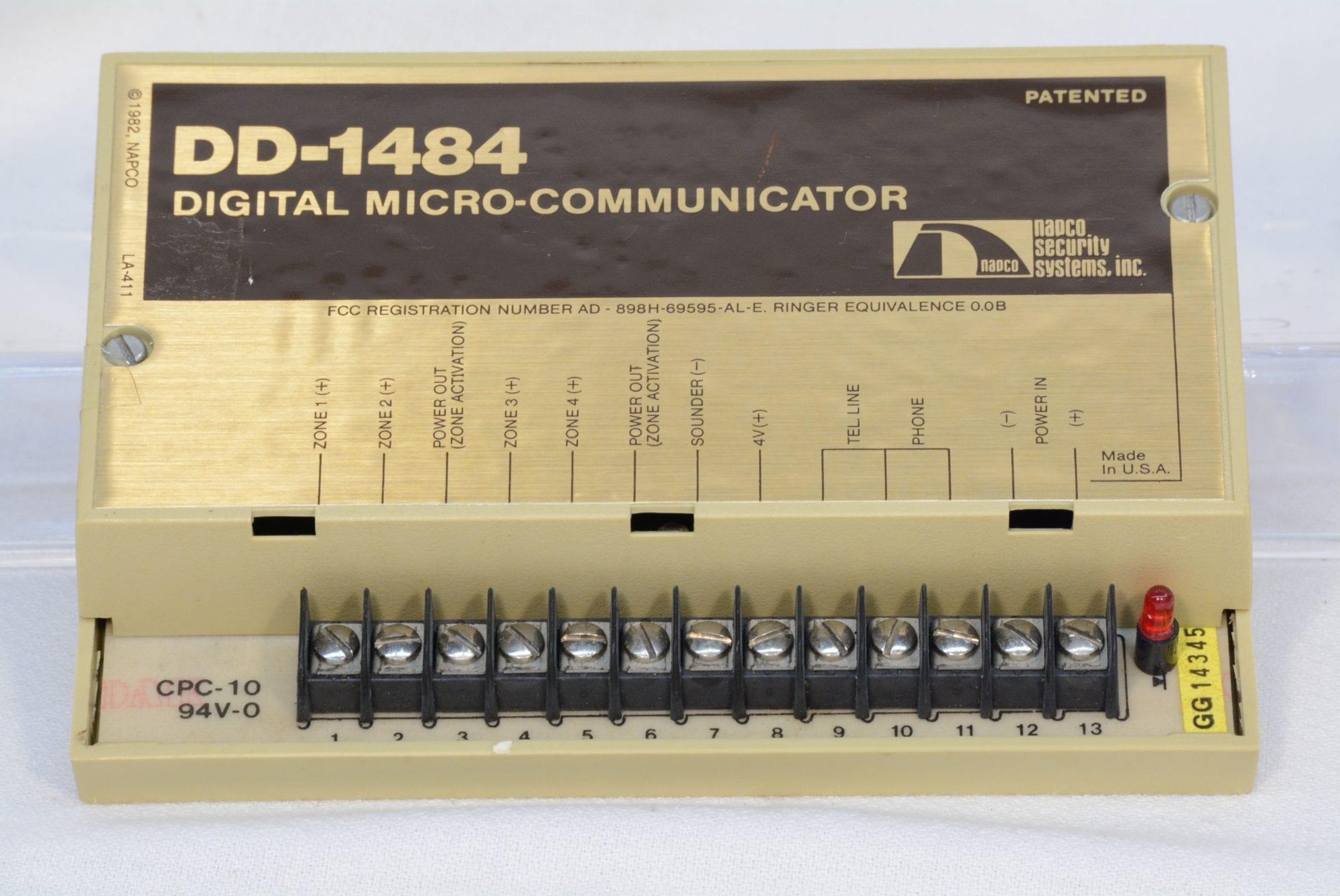 NAPCO DD-1484 Digital Micro-Communicator NEW