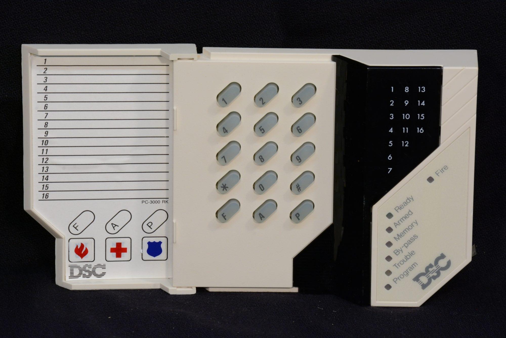 Dsc Pc3000 User Manual Various Owner Guide 5010 Wiring Diagram 16 Zone Led Keypad Wayne Alarm Systems Rh Waynealarm Com 3000 Installation Manuals