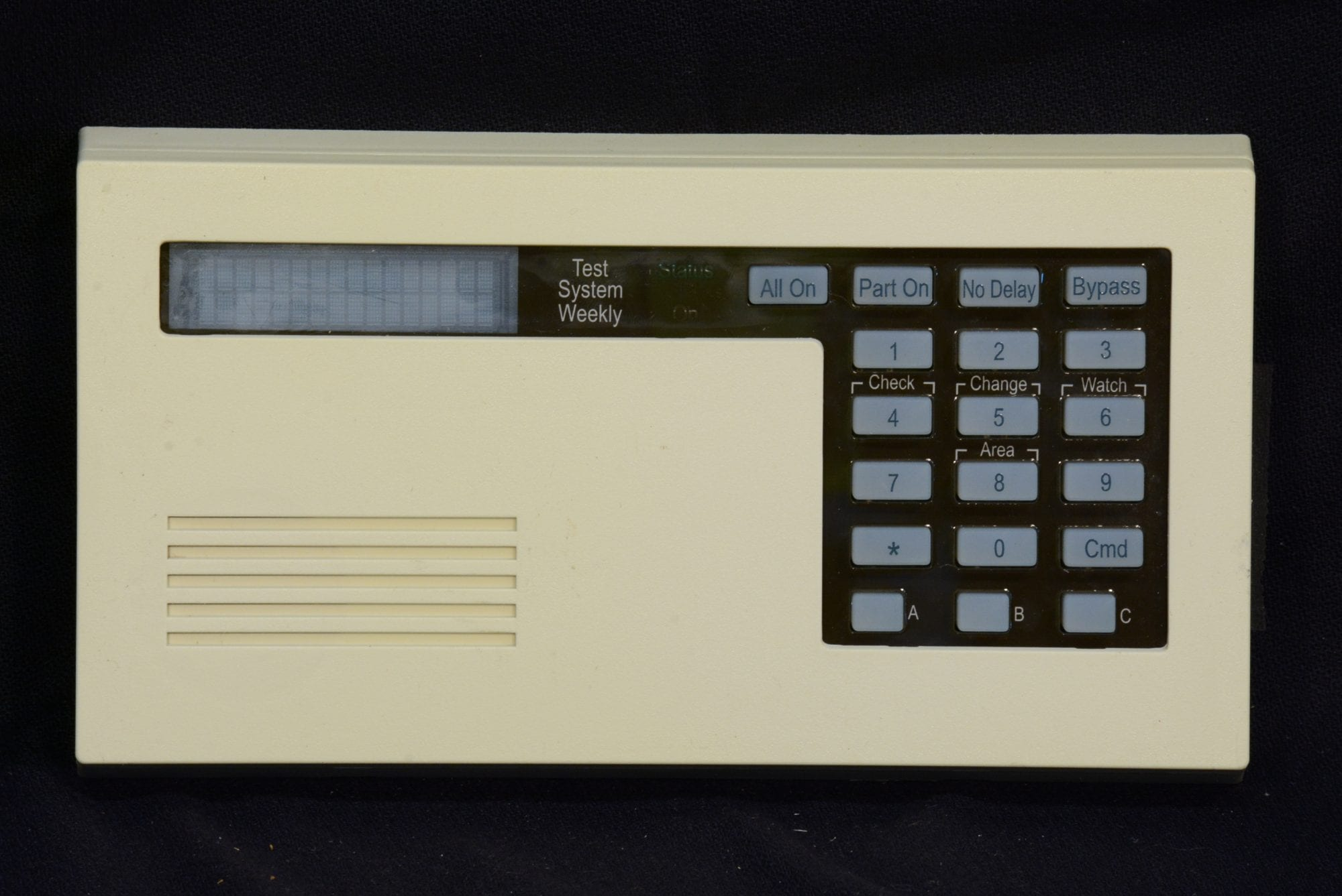 radionics keypad d625 wayne alarm systems rh waynealarm com GE Security System ADT Security System Manuals