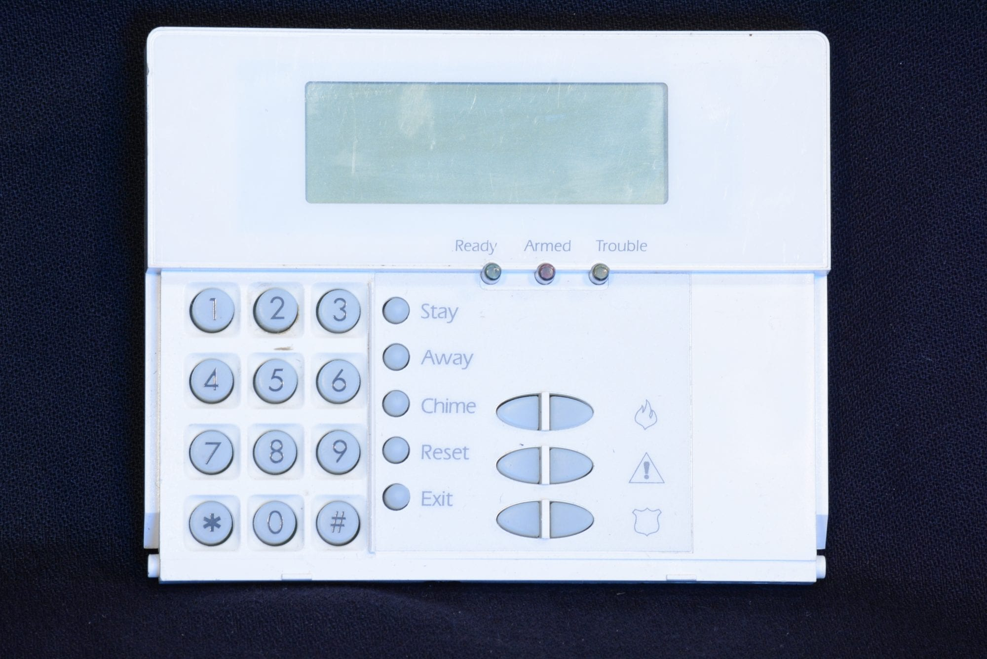 DSC LCD Keypad - Wayne Alarm Systems