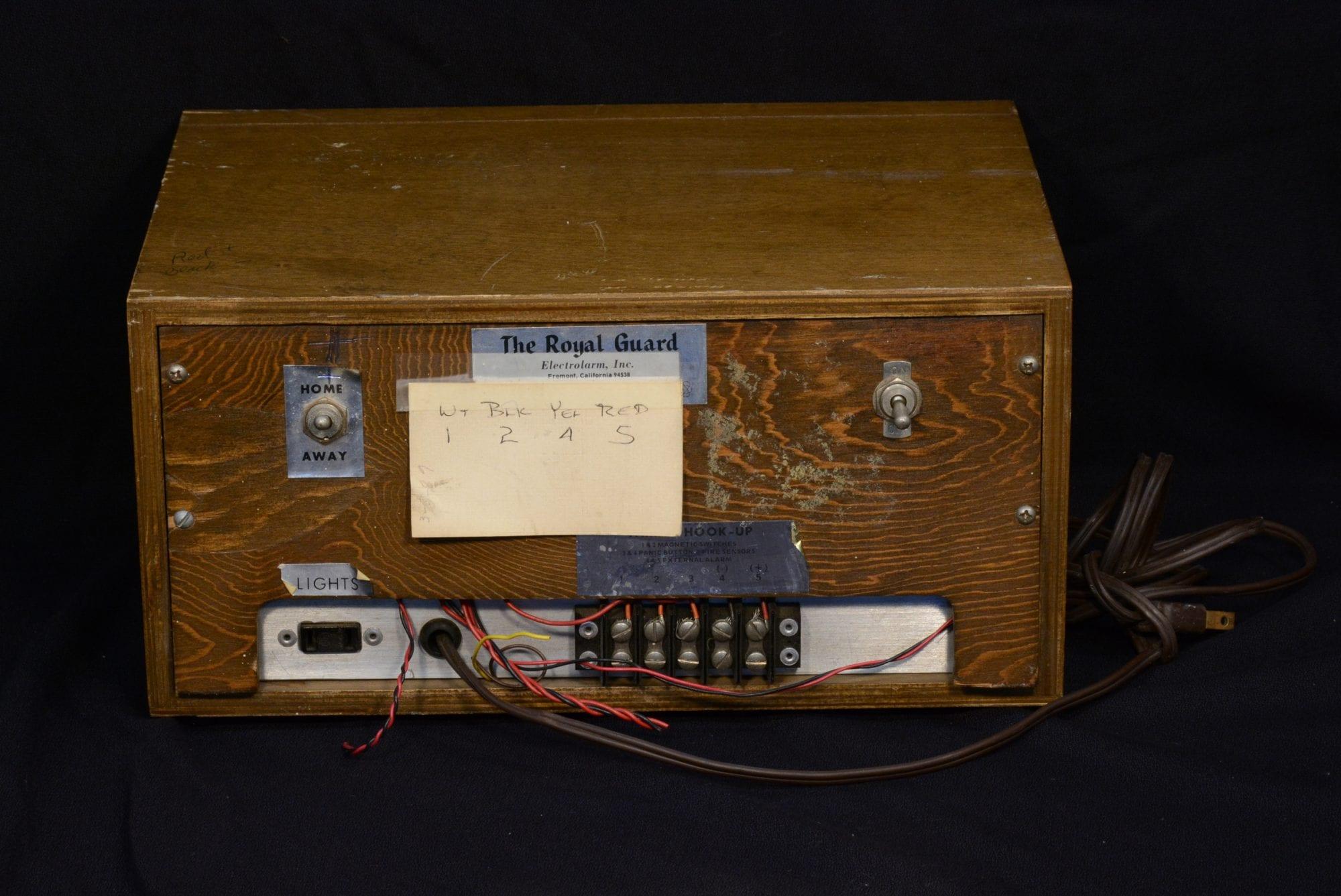 Royal Guard Sensor Alarm Wayne Systems Panic Button Wiring Gallery