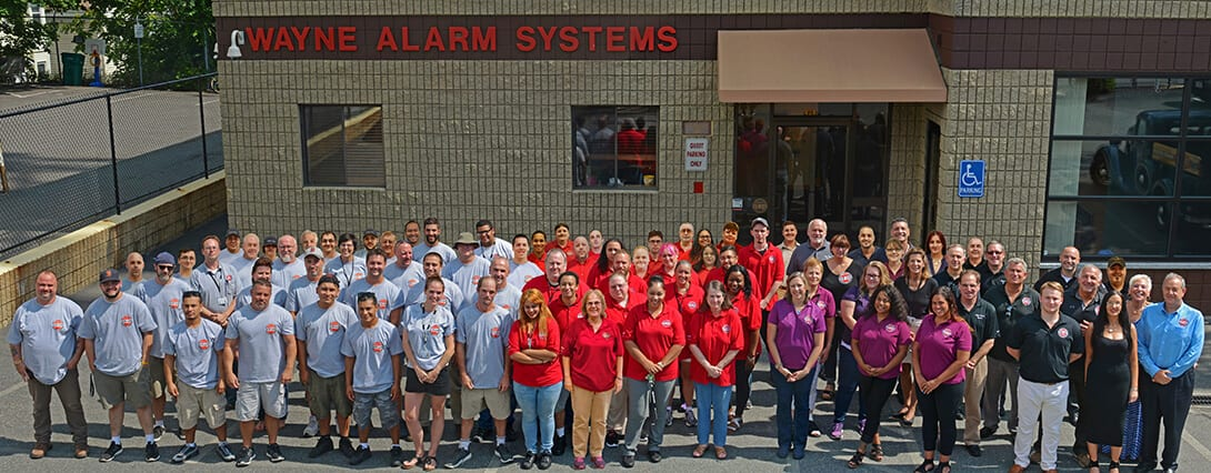 Wayne Alarm Team Picture
