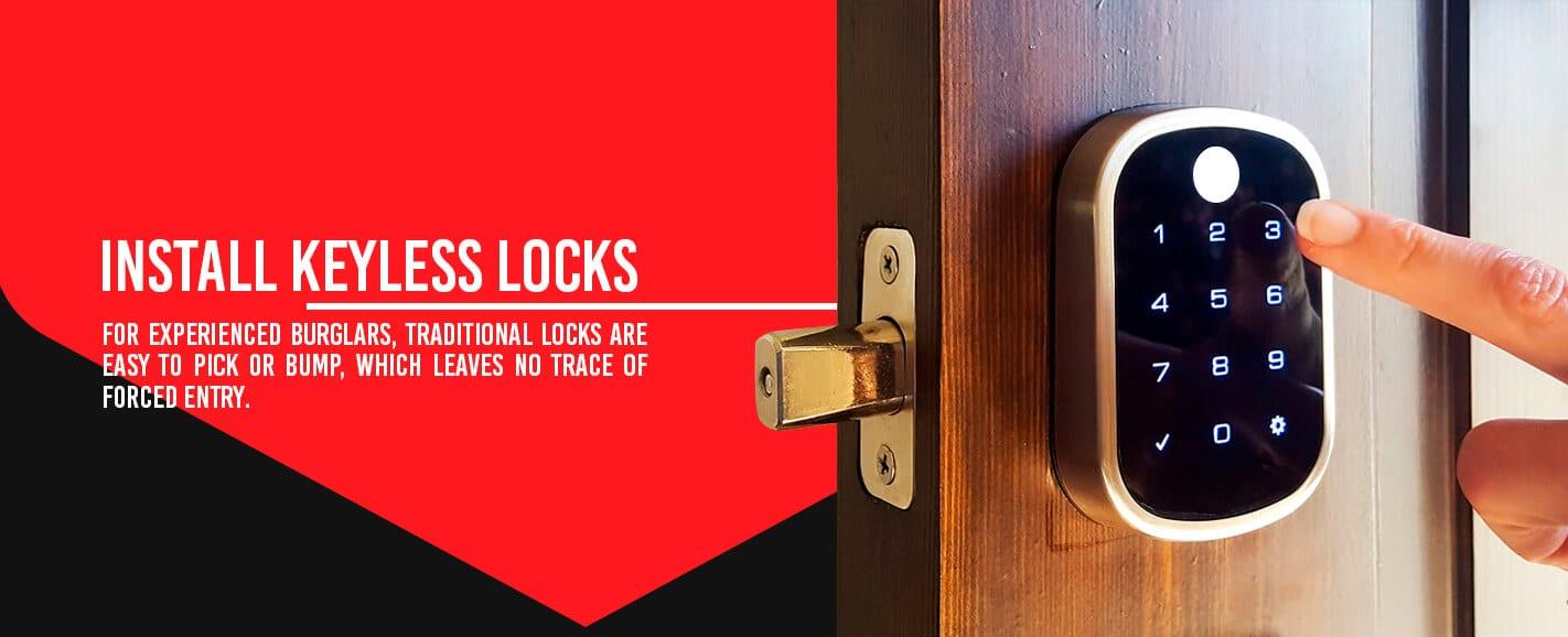 Install Keyless Locks