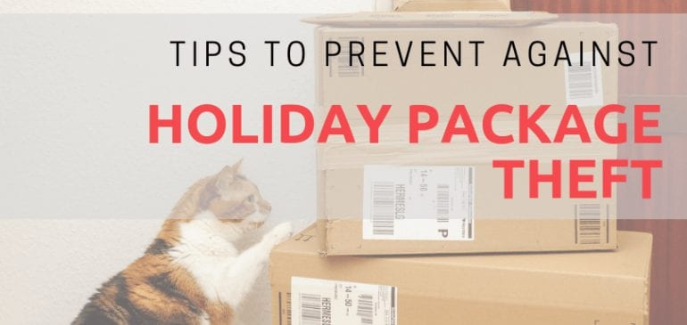Mitigating Holiday Package Theft