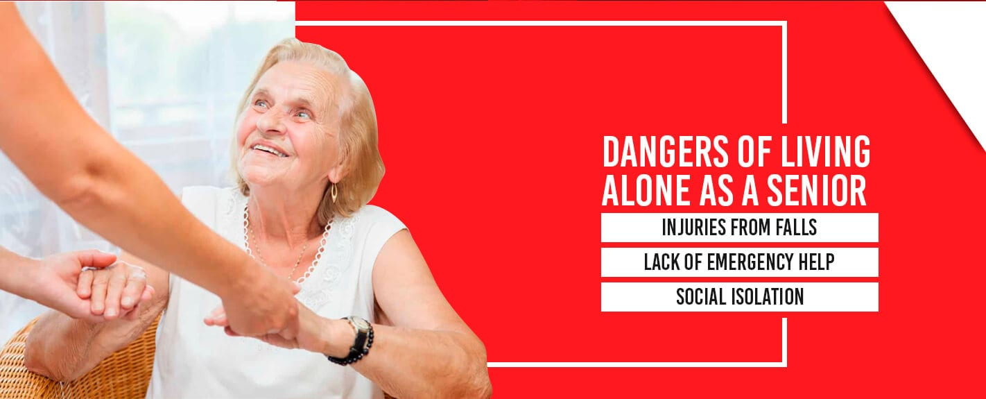 Dangers of Living Alone as a Senior