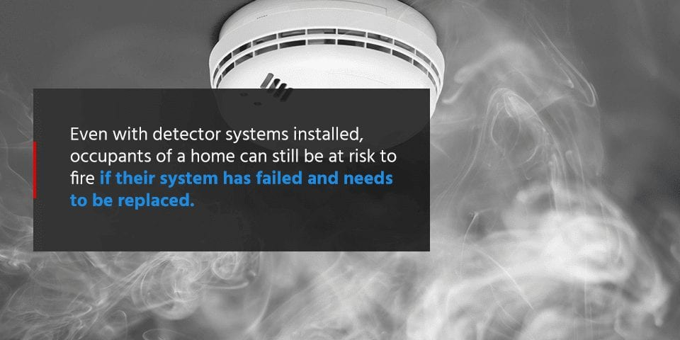 when does a smoke detector need to be replaced